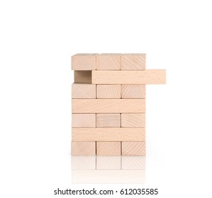 word on a wood stamp stacking