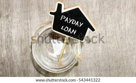 Word Payday Loan on