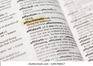 Affectionate dictionary