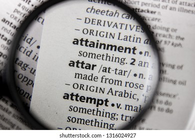 The word or phrase attar in a dictionary.