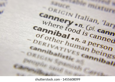 Word or phrase Cannibal in a dictionary