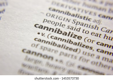 Word or phrase Cannibalize in a dictionary