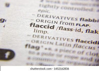 Word or phrase Flaccid in a dictionary
