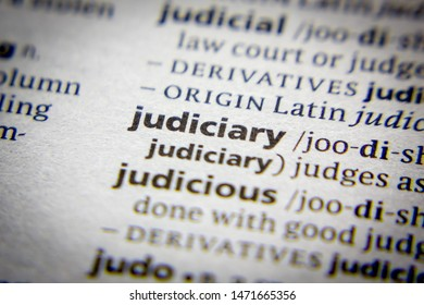 Word or phrase Judiciary in a dictionary