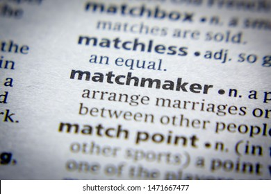 Word or phrase Matchmaker in a dictionary