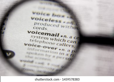 Word or phrase Voicemail in a dictionary