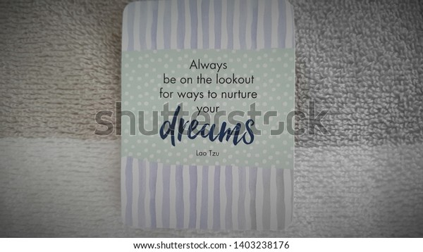 Word Quote Images Inspiration Motivation Quotes Stock Photo ...