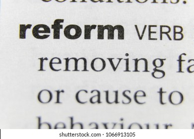The Word Reform Close Up