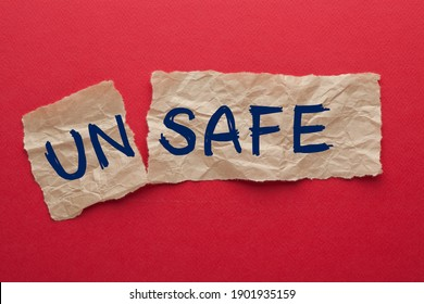 The word unsafe turned into safe
