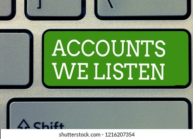 Word writing text Accounts Receivable. Business concept for Legal Claim of Payment Money Owed to by Debtors