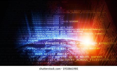 WordPress theme code on Laptop screen