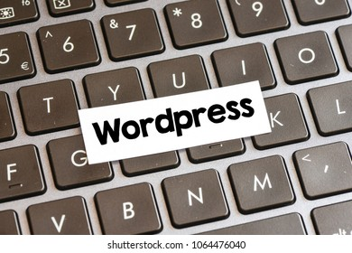 Wordpress word concept
