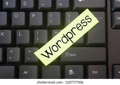 WordPress,word writing WordPress