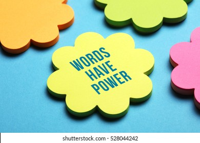 Words Have Power, Business Concept
