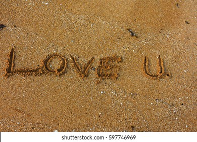 Words on the sand Seen with eyes But when the sea splashes, it fades away.