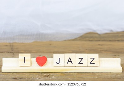 Words written with I like Jazz