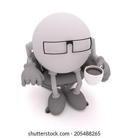 Work coffee break