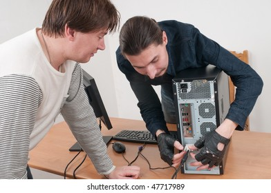 To work every day with computers it is a man's trade.