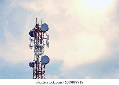 Work at Height Telecommunication Tower, Technician antenna service