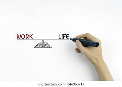 Work Life Balance. Business and Lifestyle Concept