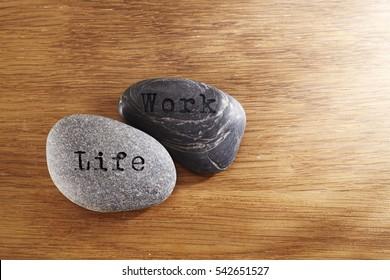 work  and life balance concept