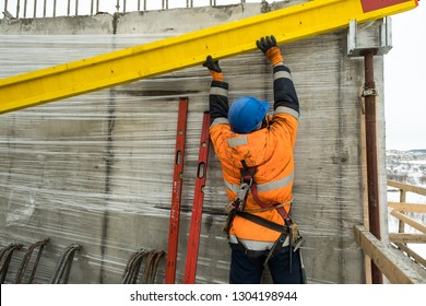 work on the construction site