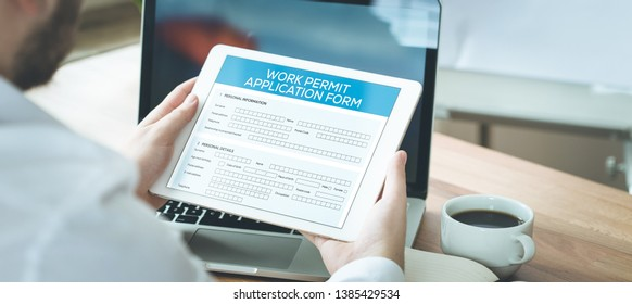 WORK PERMIT AND WORKPLACE CONCEPT