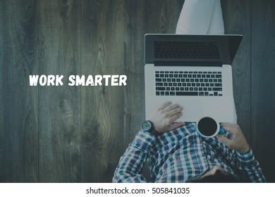 WORK SMARTER CONCEPT