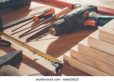 Work tool. Instrument. Construction.