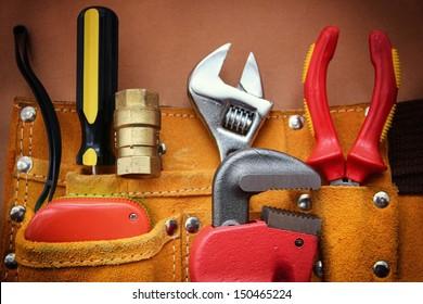 Work tools background.
