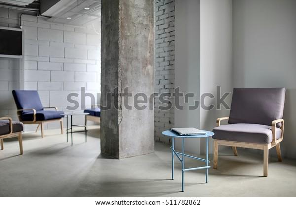 Work Zone Office Loft Style Concrete Stock Photo (Edit Now) 511782862
