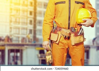 Worker man.