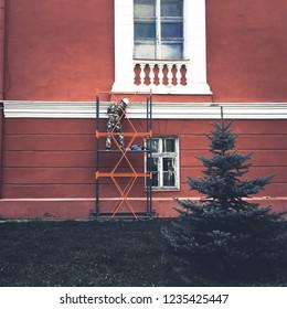 Renovation Maison Exterieur Images Stock Photos Vectors