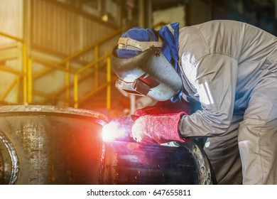 worker steel welding industrial.