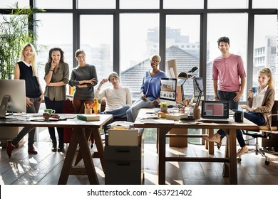 Worker Team  Business Corporate Coworkers Concept