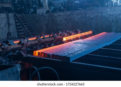 workers in steel factory metal industry