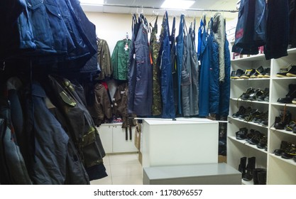 working clothes shop