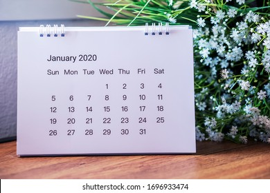 Working at home Concept. Calendar for Planner to plan daily timetable agenda and appointment .