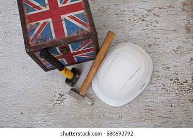 working immigrants to UK concept