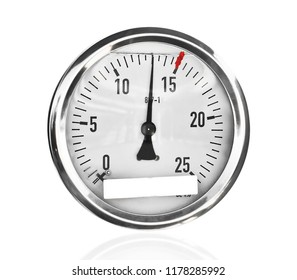 working manometer isolated