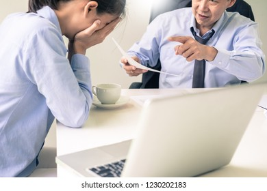 working in the office. Manager is not satisfied the argument. Business complaining in discuss during their no reason about mad group of team After office conflict against madly manager.