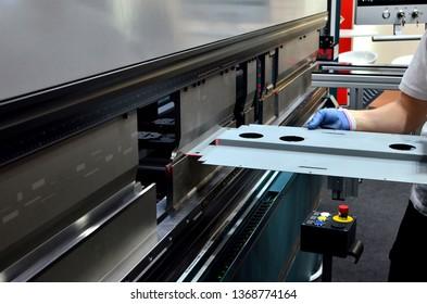 Press Brake Machine Images, Stock Photos & Vectors