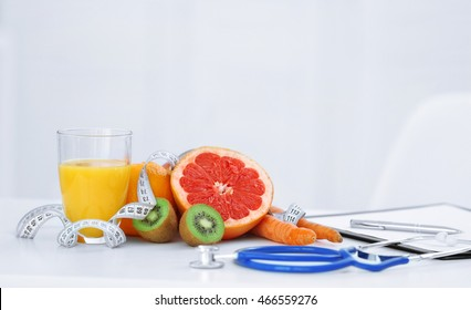 Working place of nutritionist