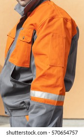 WORKING PROTECTIVE UNIFORM FOR MAN