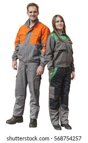 WORKING PROTECTIVE UNIFORM FOR MAN AND WOMAN