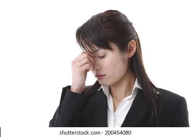 Working women tired