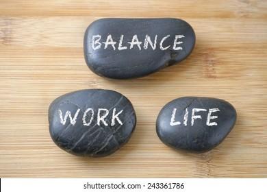Work-Life Balance concept.