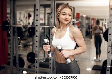 workout girls sport gym