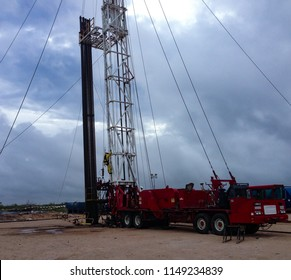 Workover Rig in the Permian Basin