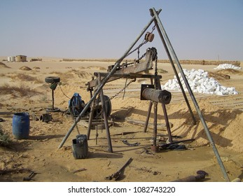 Workplace in the Desert in Siwa Oasis - Egypt